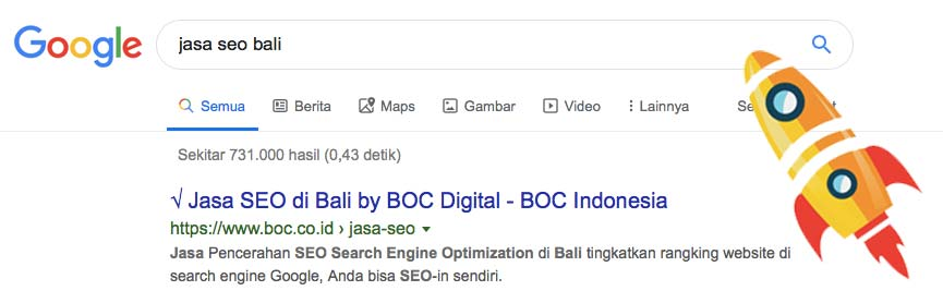 SEO services in Bali