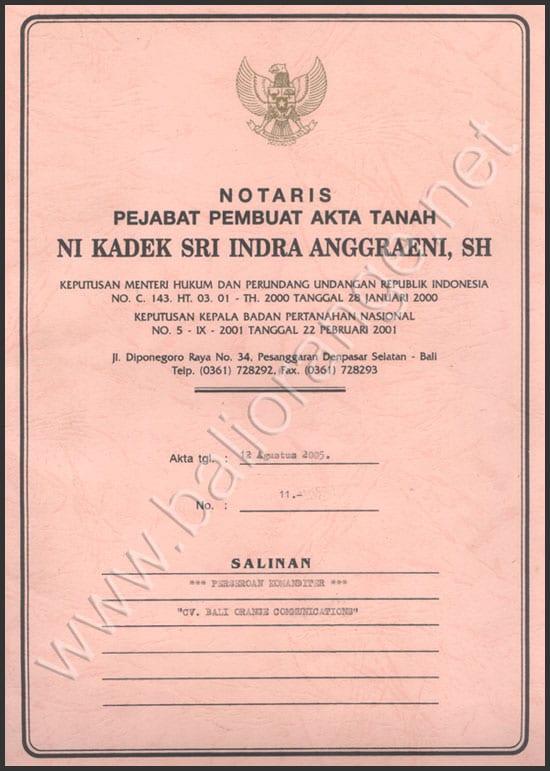 Profil Boc Indonesia