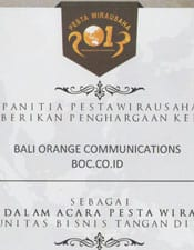 Pesta Wirausaha TDA 2013, Komunitas Bisnis Tangan Diatas (TDA)