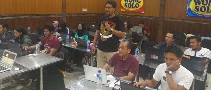 Hendra Founder di DONGKRAK Digital Marketing Workshop