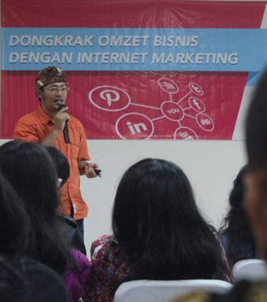 CEO BOC dan Seminar Internet Marketing DONGKRAK