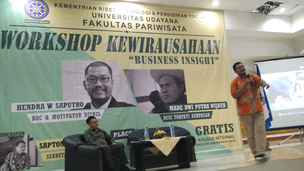 Workshop Kewirausahaan Mahasiswa