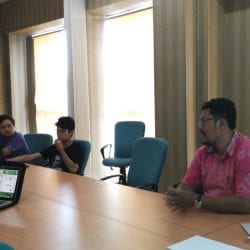 Workshop SEO di Balai Diklat Industri Denpasar
