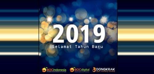 Selamat Tahun Baru 2019! Yuk tingkatkan Omzet!