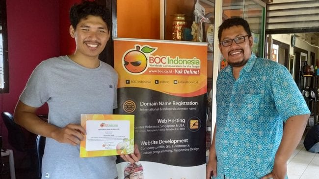 Job training Hasan di BOC