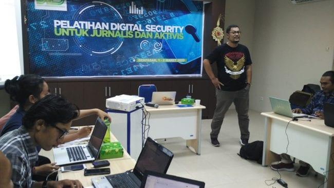 Pelatihan Digital Security bagi Aktivis dan Jurnalis