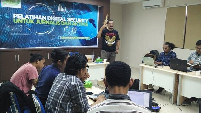 Pelatihan Digital Security Denpasar Bali