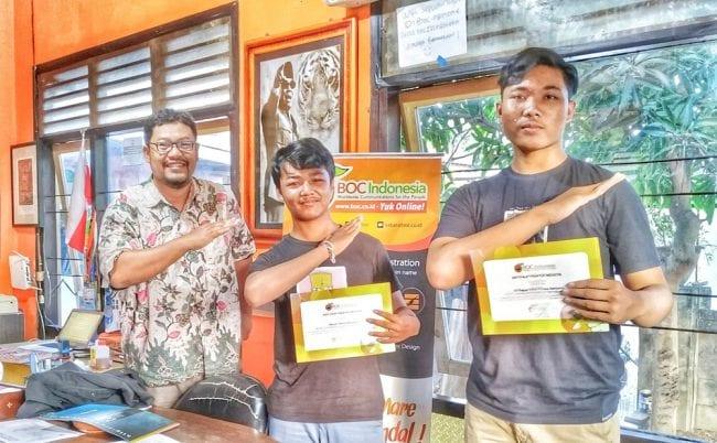 Sahabat Magang Dari SMK TI Bali Global Denpasar