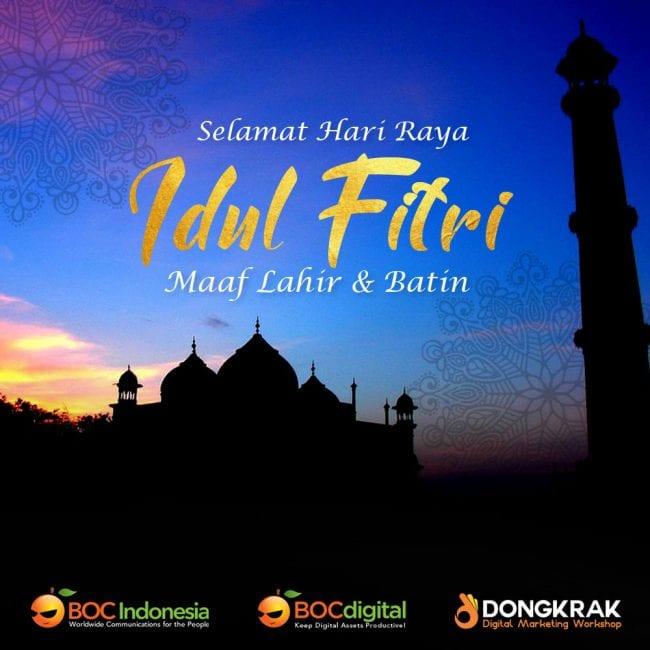 Selamat Hari Raya Idul Fitri 2019
