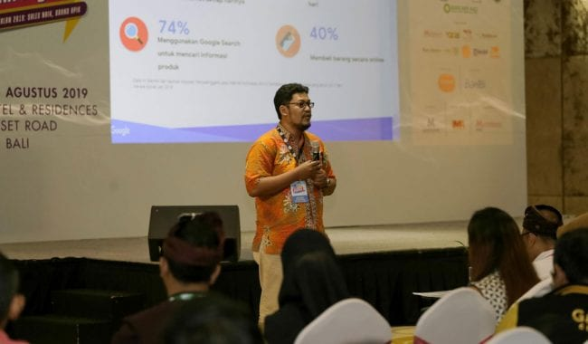 Berbicara di Indonesia Marketeers Festival 2019