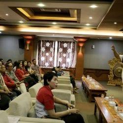 Hendra di Indonesia Marketeers Festival 2019 Bali presentasi untuk UKM di Bali
