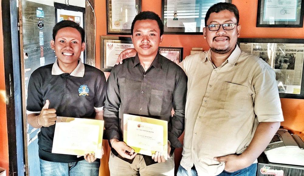 Pageh, Ari OJT di BOC Indonesia