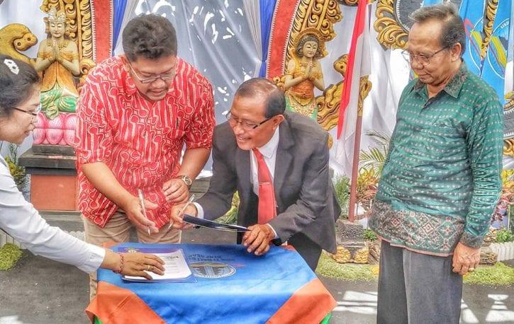 MoU SMK TI Bali Global Denpasar dengan BOC Indonesia