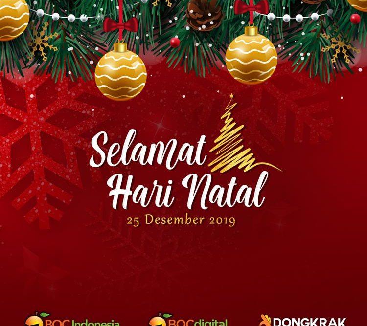 Selamat Hari Raya Natal 2019