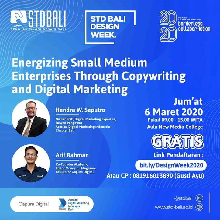STD Bali Design Week 2020