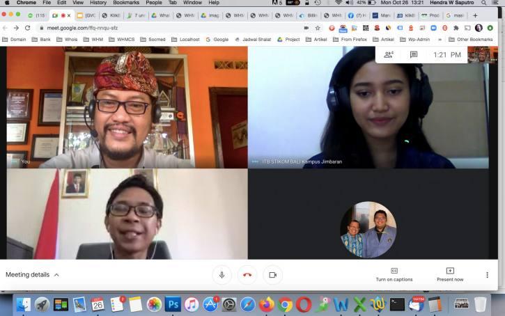 Webinar di ITB STIKOM Kampus Jimbaran