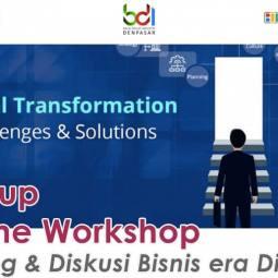 Startup Online Workshop