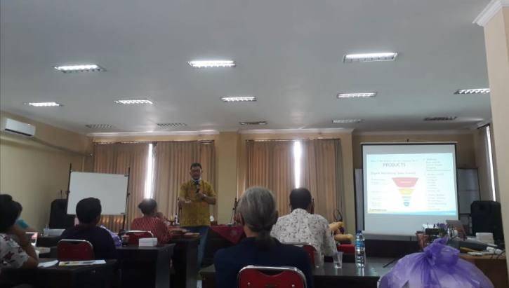 Workshop digital marketing UKM Buleleng Bali