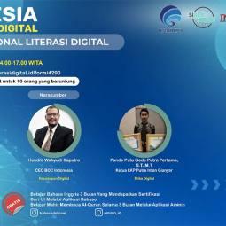 CEO BOC Berbicara di Program Literasi Digital Nasional